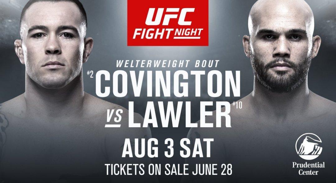 UFC on ESPN 5: Covington vs La...