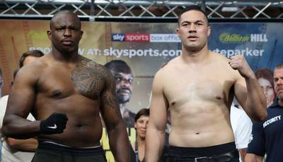 Whyte - Parker, Chisora - Takam. Weigh-in results