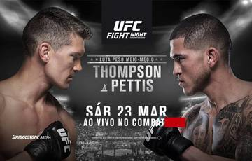 UFC Fight Night 148: Thompson vs Pettis. Predictions and betting odds